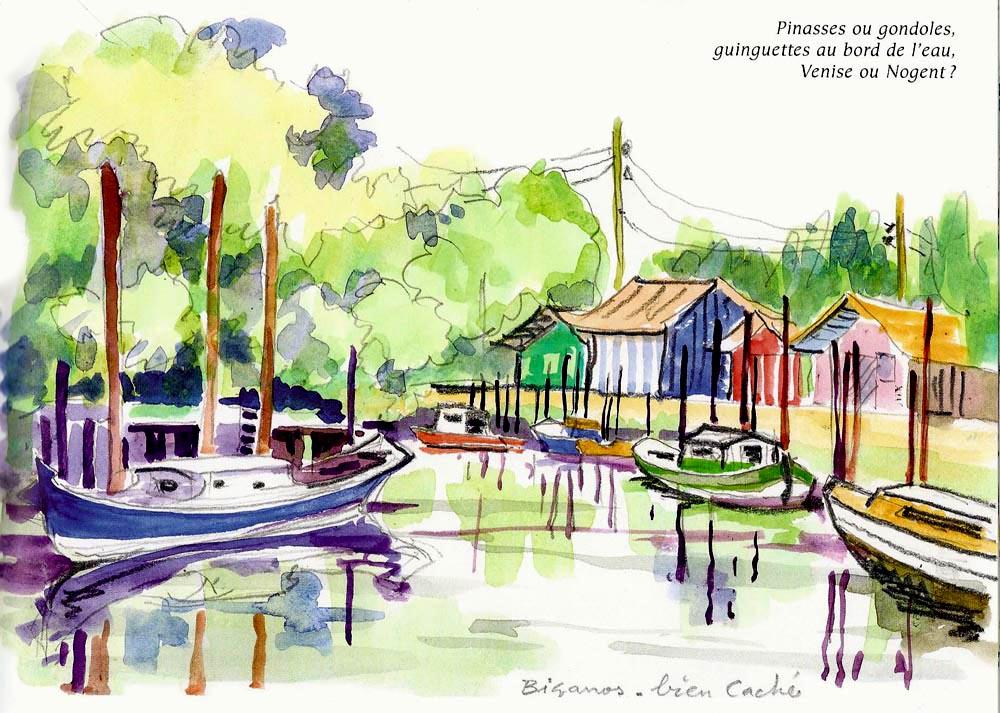 Port De Biganos Conservatoire Patrimonial Du Bassin D Arcachon